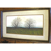 Lovely Framed Print by 2006 Official Texas Artist George Boutwell