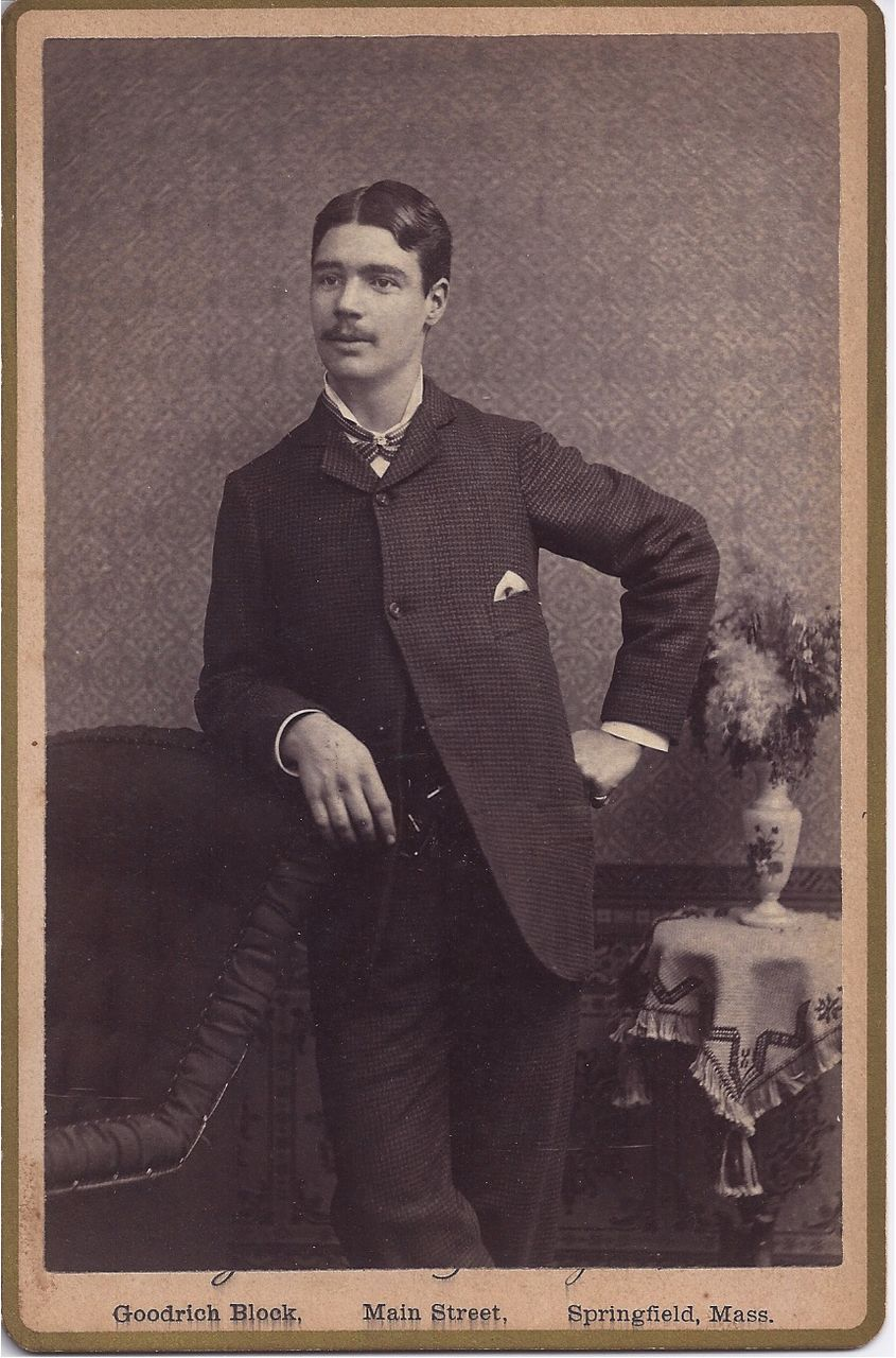 Cabinet Photograph of Young Gentleman