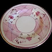 Lovely Vintage Pink Lustre Tea (Dessert) Plate