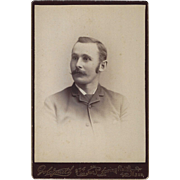 Cabinet Card of Young Gentleman, Goldsmith, Springfield, Mass