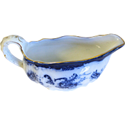 Lovely Flow Blue Gravy Boat ELSIE Hulme and Christie