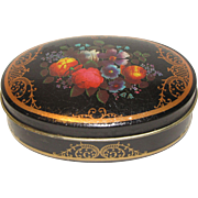 Very Small Vintage Toffee Tin, FARRAH'S Original Harrogate Toffee