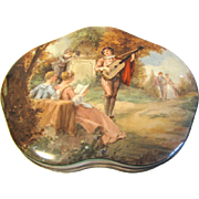 1950's Biscuit Tin, MINSTREL BOY, Huntley & Palmers England
