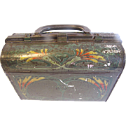 Rare Circa 1905 Huntley & Palmers Biscuit Tin RITCULE, Art Nouveau