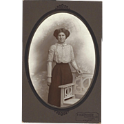Cabinet Photograph of Woman