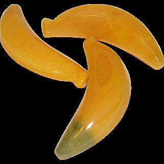 Vintage Mexican Polished Alabaster Banana