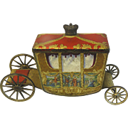 CA 1936 British Biscuit Tin CORONATION Coach W. R. Jacobs