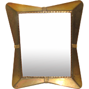 Art Deco Brass Table-Top Photograph Frame.