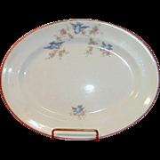 Bluebird China Platter, The Potters Co-operative Company 1920-25