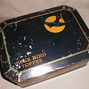 Large Vintage Toffee Tin, Blue Bird Select Assortment