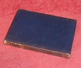 "Blue Leather Bound Book, ""WAVERLEY"" by Sir Walter Scott"