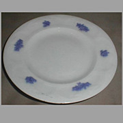 Lovely White Ironstone Dessert Plate, Adderley