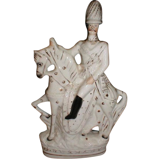 Large Staffordshire Figure, Frederick Gustavus Burnaby