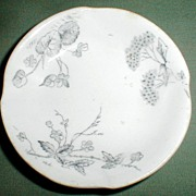 English Transferware Butter Pat, Johnson Bros., ROSEDALE