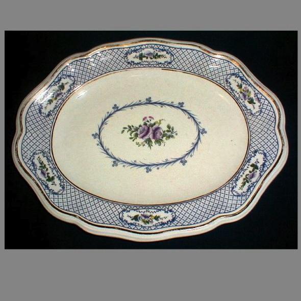 Lovely Light Blue Platter, Mintons, ORION, 1910-20