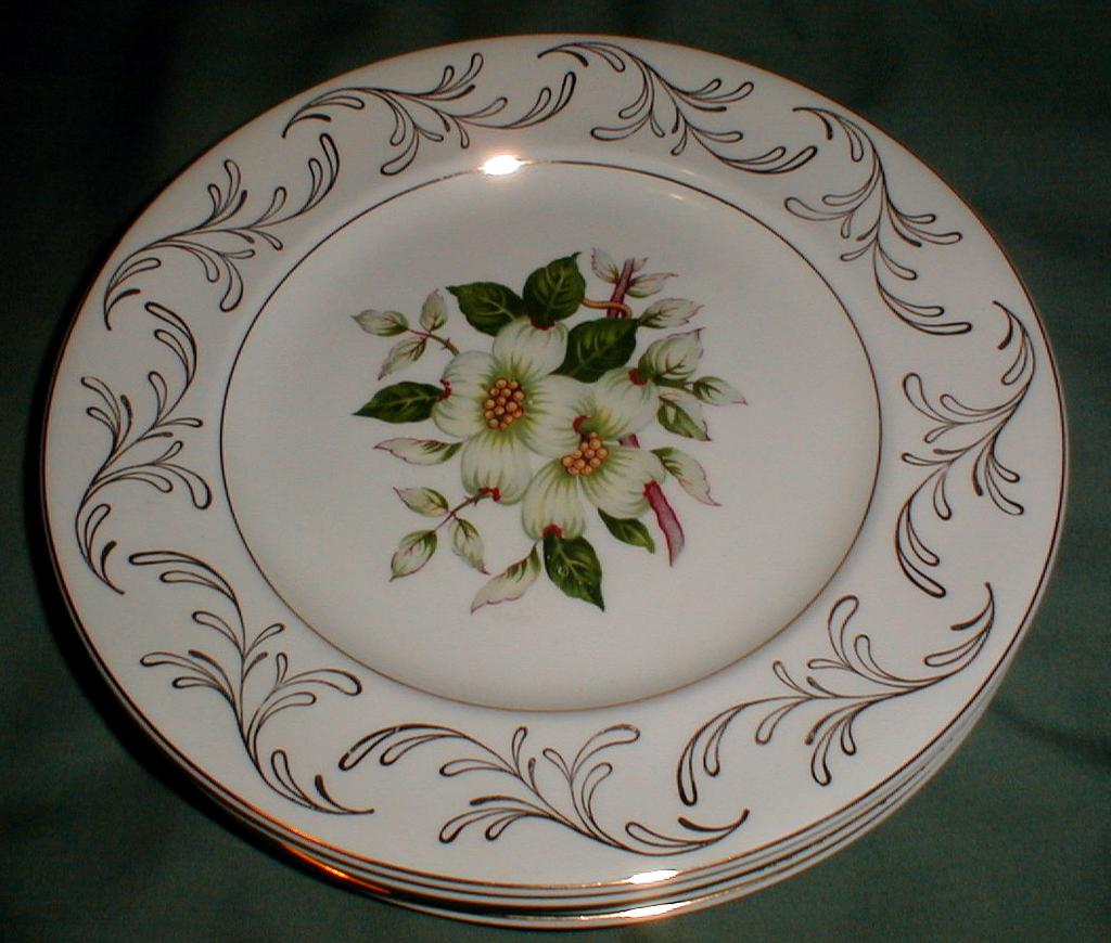 Lovely Vintage Salad Plate, DOGWOOD, Johnson Bros. England