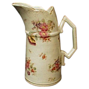 Gorgeous Hand-painted Pitcher Royal Bonn