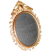 Lovely Oval Table Top Brass Photograph Frame