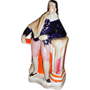 19th Century Staffordshire Figure, John Milton