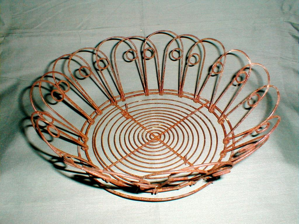 Wonderful and Useful Antique Wireware Bread Basket