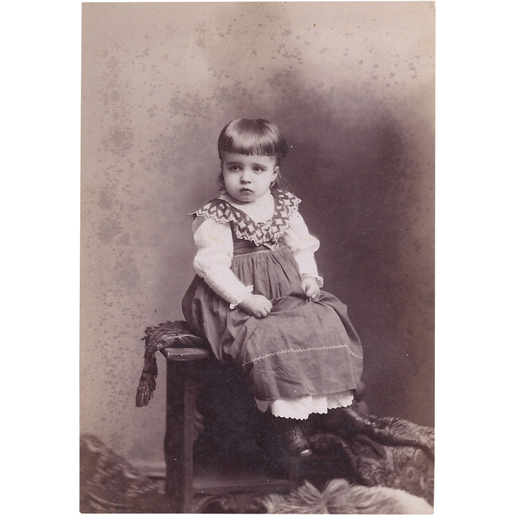 Victorian Cabinet Photograph Card, Young Girl