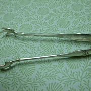 "Gorham Sterling 5"" Tongs, ""Villa Norfolk"" C:1904"
