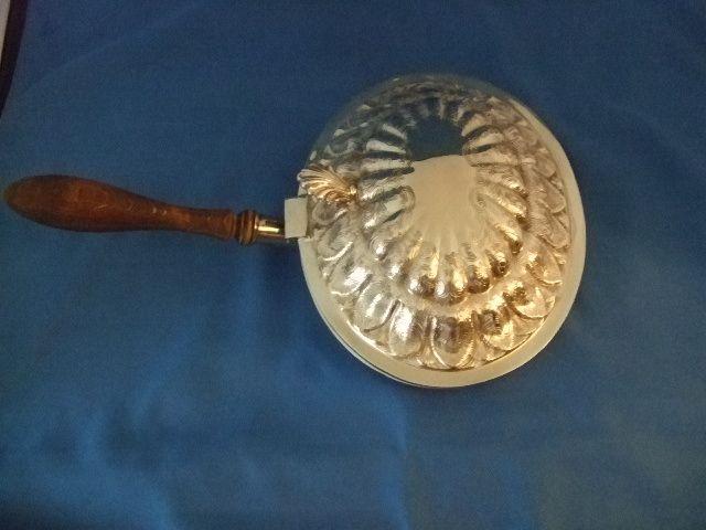"""Ellis Barker Silver On Copper """"Silent Butler"""""""