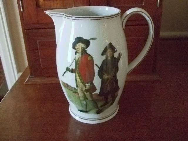 Mottahedeh Blackheath Golf Pitcher Signed By Mildred Mottahedeh