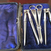 Boxed Set Of Nutcrackers & Grape Shears C:1856