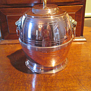 English Copper/Brass Biscuit Barrel