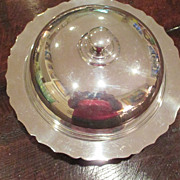 English Silver Plated Muffin Keep