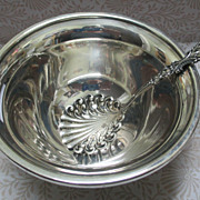 Sterling Bowl And Nut or Bob Bon Spoon