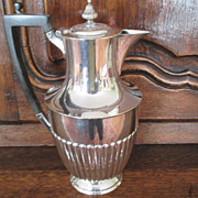 English Atkin Bros. Silver Plated Jug