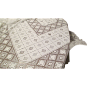 "Hand Crocheted 55 x 55"" Tablecloth C:1930"