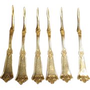 Set Of 6 American Silver Co. Nut Picks