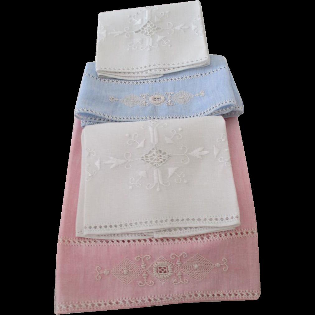 Vintage Linen Towels 10