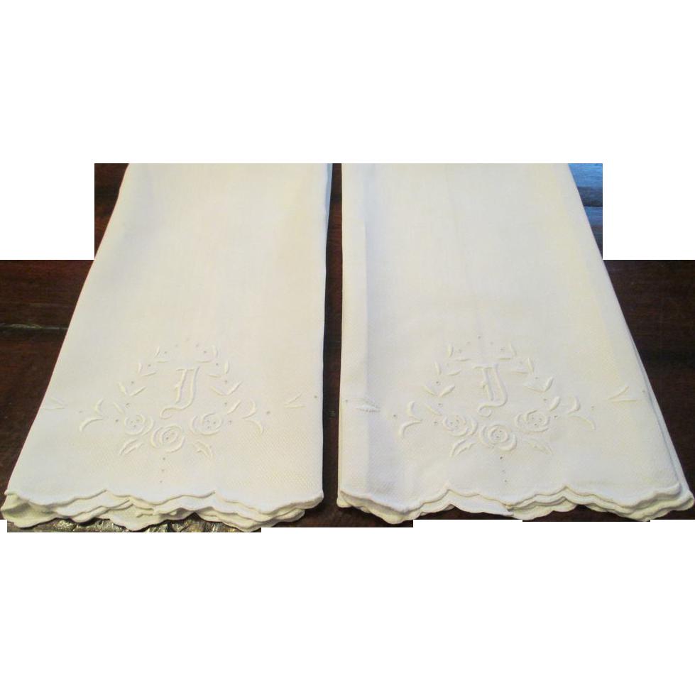 Vintage Linen Towels 55