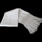 "Italian Damask Linen ""Show Towel"" C: 1930"