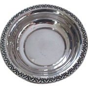 Dunkirk Silversmiths Sterling Bowl/WineCoaster