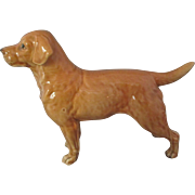 English Ceramic Retriever