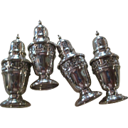 """Pr. """"Strasbourg"""" By Gorham Sterling Salt And Pepper ( 2 Prs. Available)"""