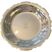 Sterling Bowl Made By Charter Co.