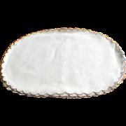 Set Of 8 Cream/Ecru Linen Placemats