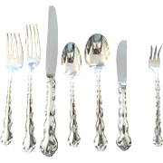 "60 Piece Set Sterling Flatware, ""TARA"" By Reed & Barton"