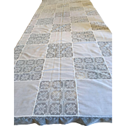 Vintage Army/Navy Tablecloth