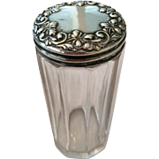 Sterling Top Vanity Jar
