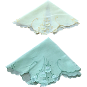 Pr. of Linen Hankies