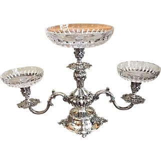 Reed & Barton Silver Plated Epergne