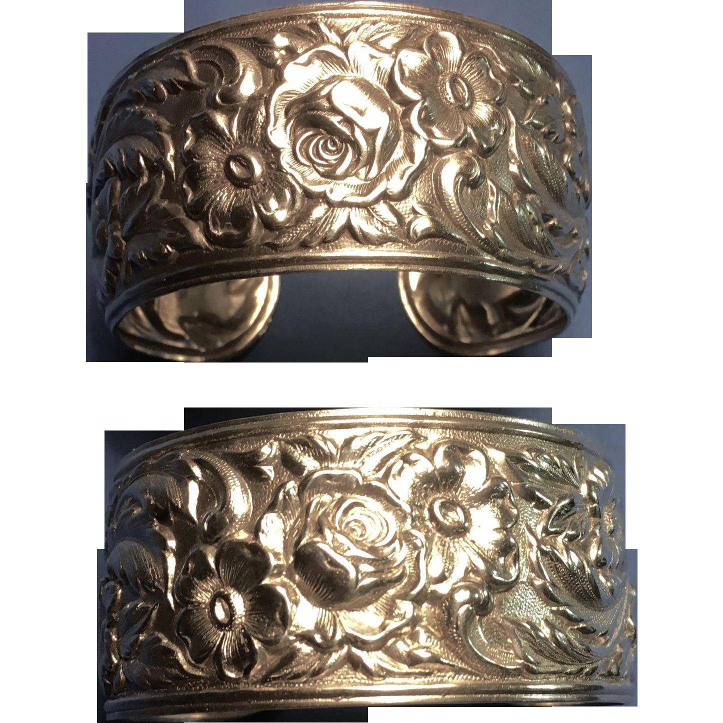 """S. Kirk & Son """"Repousse"""" Bracelet (3 Available)"""
