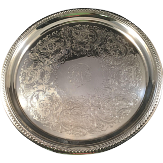"!2"" Gorham Sterling Tray C:1932"